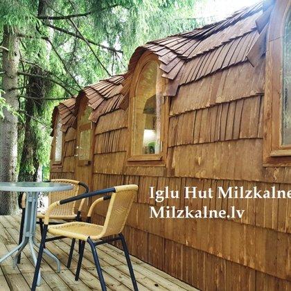 Iglu namiņš Milzkalnē