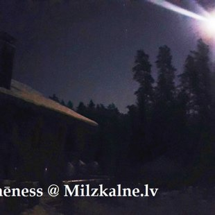 Full moon @ Milzkalne.lv